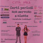Città amica – 19 Settembre 2021 – Teatro Lauro Rossi